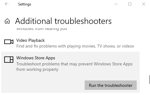 Microsoft Store missing or not installed in Windows 10