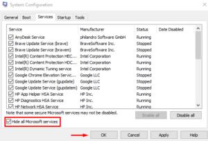 Windows 10 Backup Fails with Error Code 0x800700E1
