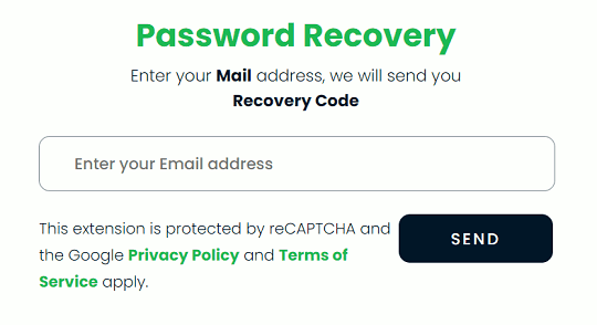 Browser Lock Password Recovery