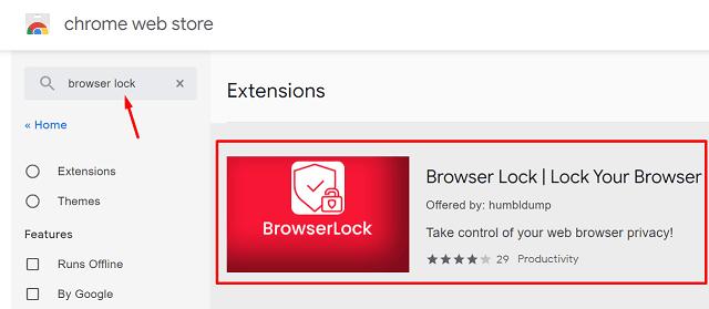 Password Protect Google Chrome - Browser Lock