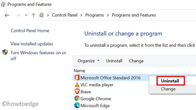 Update Error Code 0x80070663 - Uninstall Office