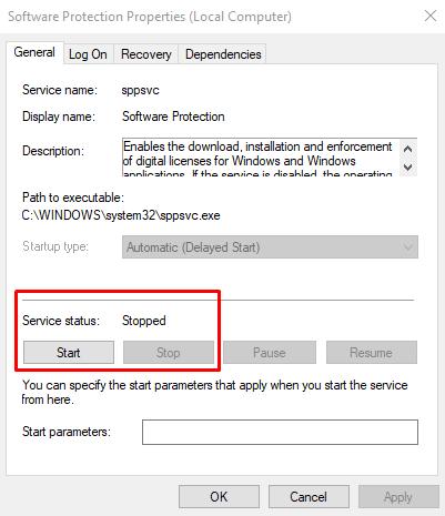 Windows 10 Activation Error 0xc0000022
