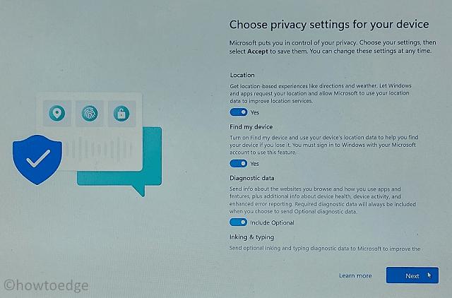 Choose Privacy