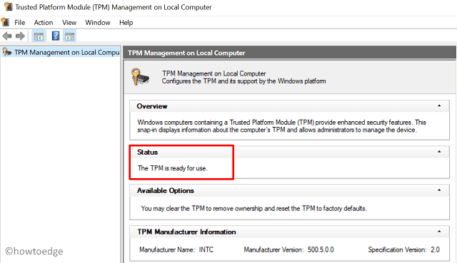 check Windows 11 Compatibility - TPM Status