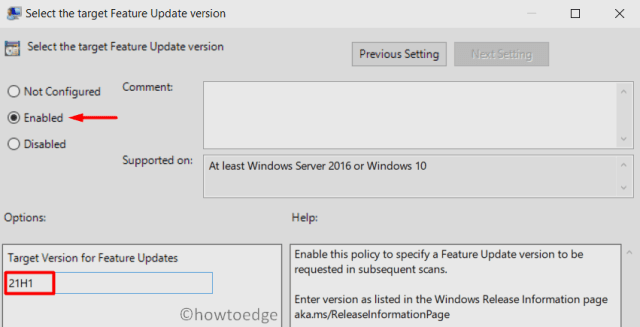 Block Windows 11 Update via GPE