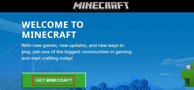 Get Minecraft