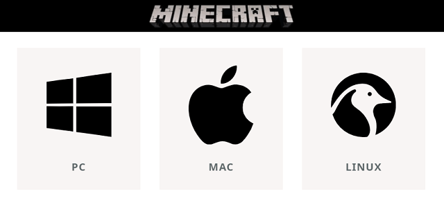 Select OS - Minecraft on Windows 11