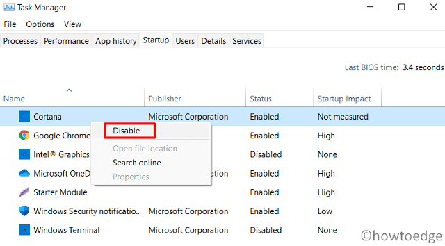 Speed Up Windows 11 - Disable Startup Apps