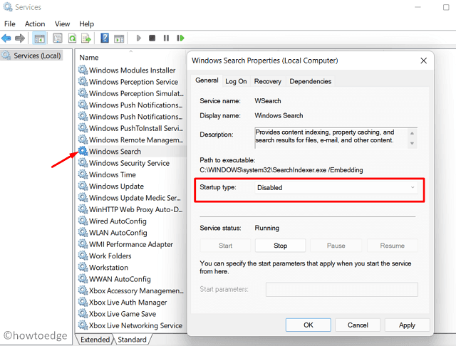 Speed Up Windows 11 - Services