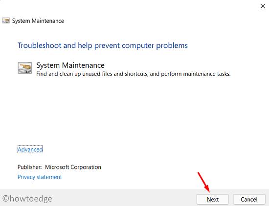 Speed Up Windows 11 - troubleshooter