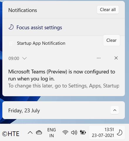 Windows 11 Focus Assist