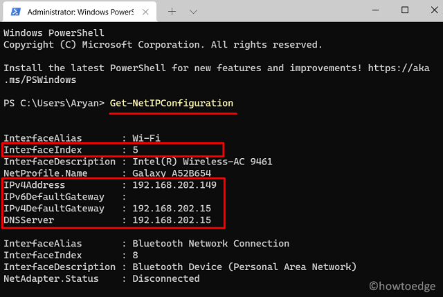 Assign a Static IP Address in Windows - PowerShell