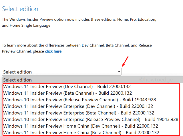 Download Windows 11 ISO File - Choose Insider Build