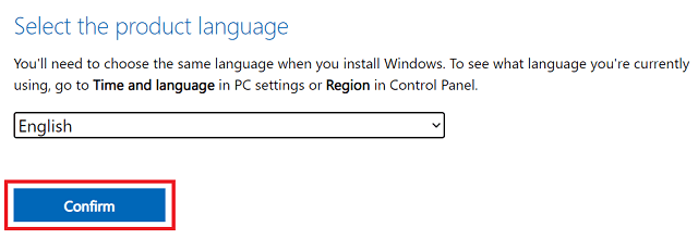 Download Windows 11 officially - choose language