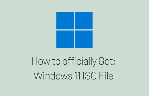How to Get Windows 11 ISO File officially