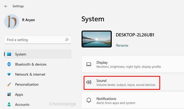 Improve Sound Quality in Windows 11 - Configure Sound