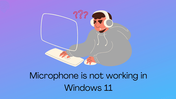 Microphone is not working in Windows 11