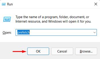 clear Windows 11 Cache - prefetch