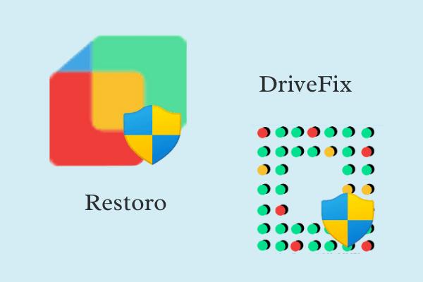 Restoro and DriveFix