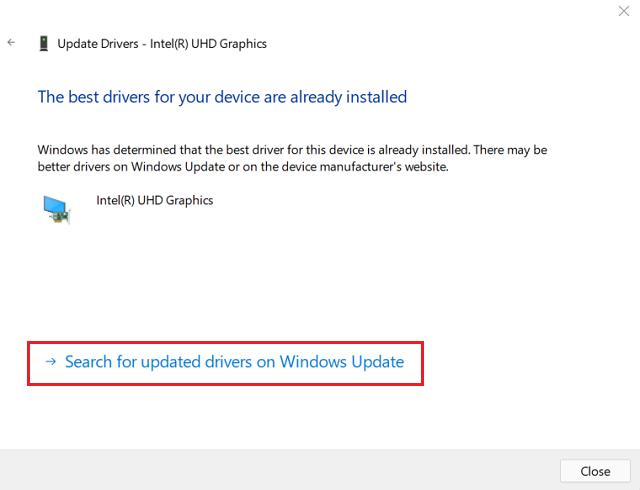 Windows 11 Update Failing on Error Code 0x8007007f - Update graphics card